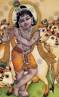Krishna with a Beautiful Flute